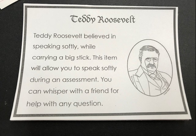 Teddy Roosevelt Item